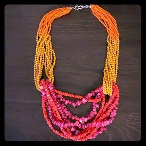 Anthropologie statement necklace